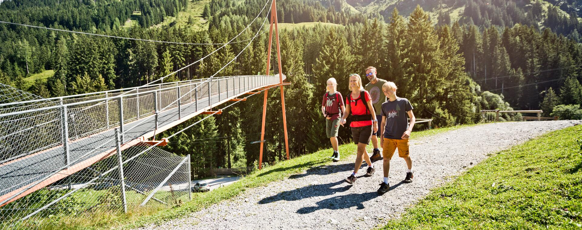 hiking with children Saalbach-Hinterglemm | © © saalbach.com, Mirja Geh
