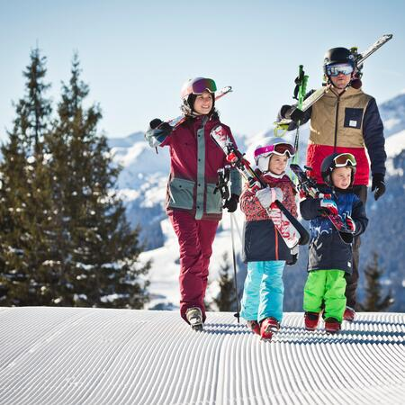 winter holiday with children Salzburger Land
