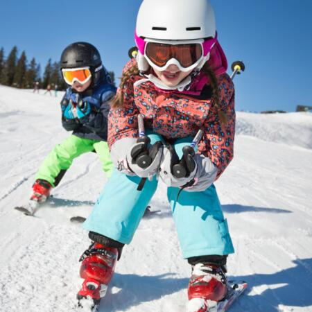 skiing holiday with children Salzburger Land
