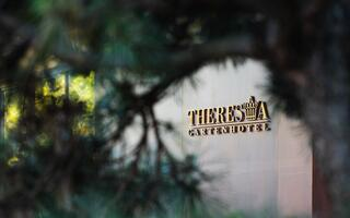 Gartenhotel Theresia entrance